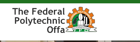 Offa Poly ND Part-Time Admission List