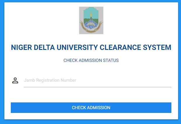 ndu admission list