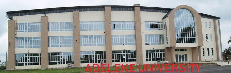 Adeleke University Post UTME Form
