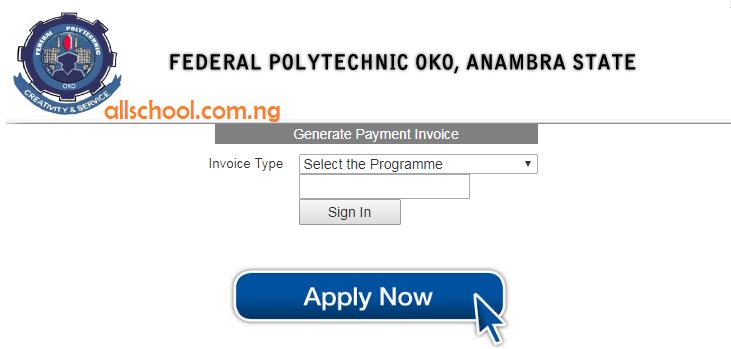 Federal Polytechnic Oko Post UTME Form