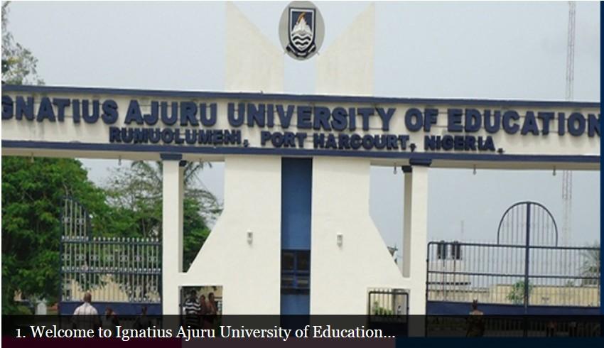 Ignatius Ajuru University of Education IAUE Courses