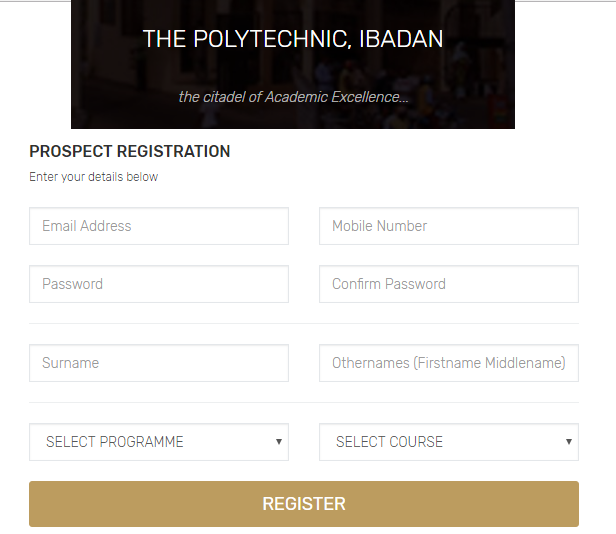 Poly Ibadan Post Utme Form For 2020 2021 Session