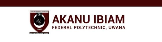 Akanu Ibiam Poly Unwana Academic Calendar