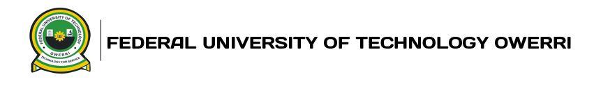 FUTO Postgraduate Validation & Progress Report
