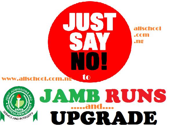JAMB 2020: Does JAMB Runs, Expo or Upgrade Works?
