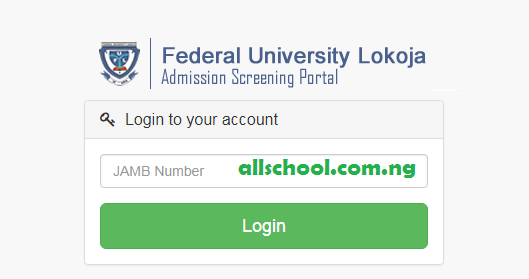 fulokoja post utme form