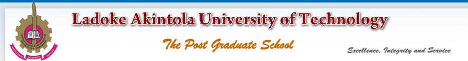 LAUTECH Postgraduate Courses