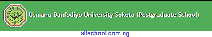 UDUSOK Postgraduate Academic Calendar