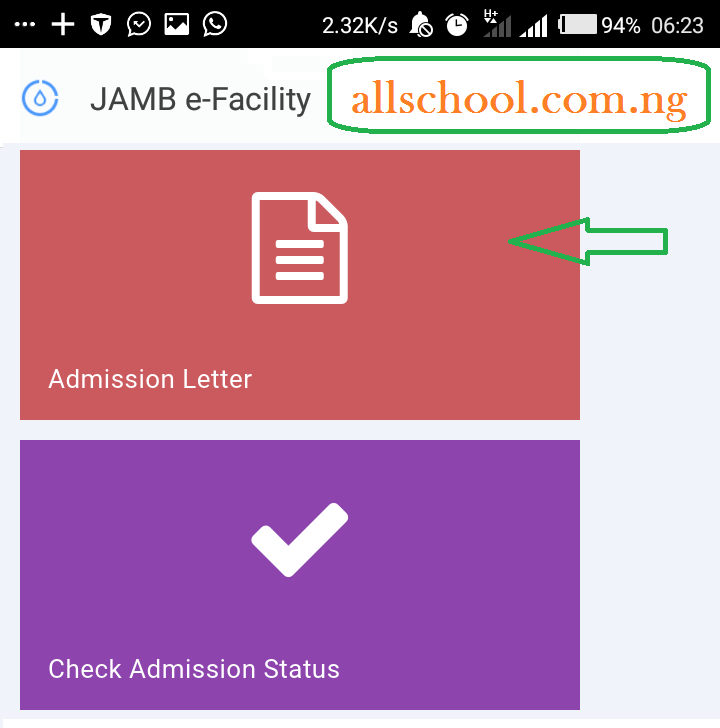 How to Print JAMB Admission Letter for UTME & DE Candidates