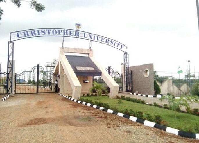 Christopher University Post-UTME Form