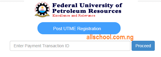 fupre post utme form