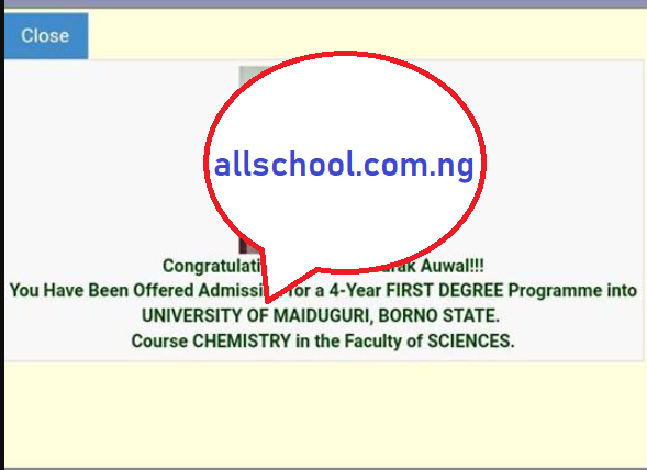 UNIMAID Admission List 2019/2020 is Out [First Batch]