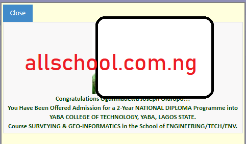 Yabatech Admission List 2019 2020 Is Out Nd Full Time Updated
