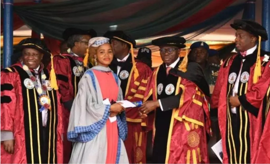 List of Best Graduated Students With Great CGPA in 2018/2019 Academic Session