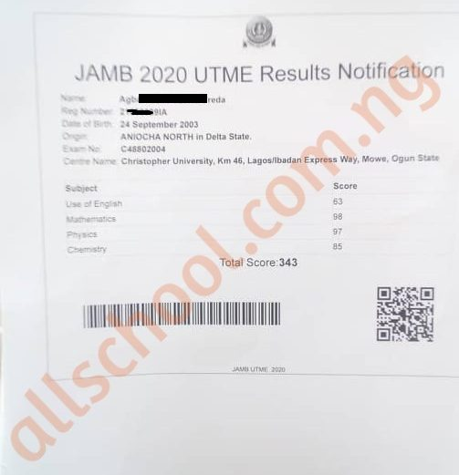 2020 UTME: JAMB Highest Scores for 2020 is Officially Out