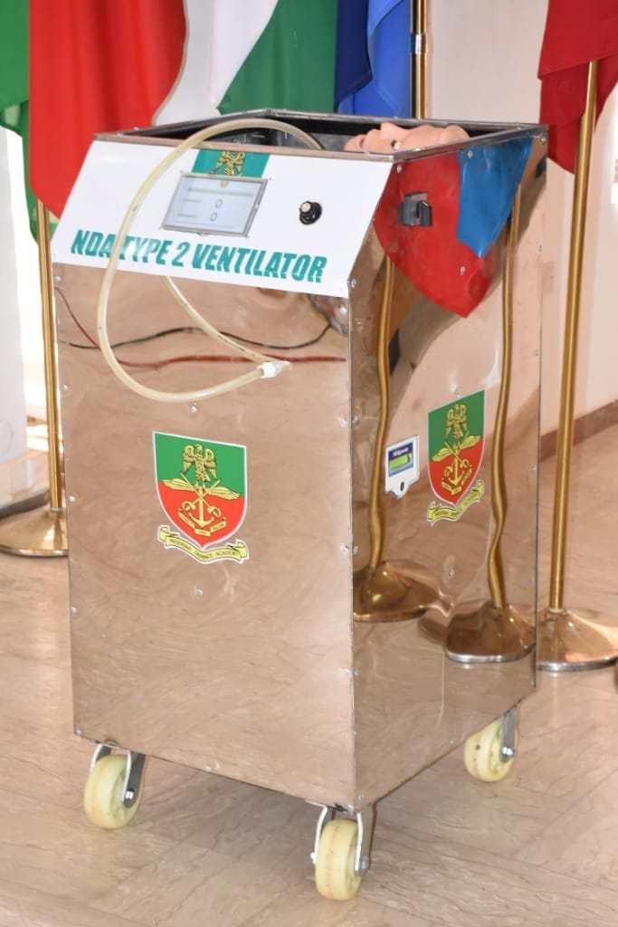 COVID-19: Nigerian Defence Academy produces ventilators