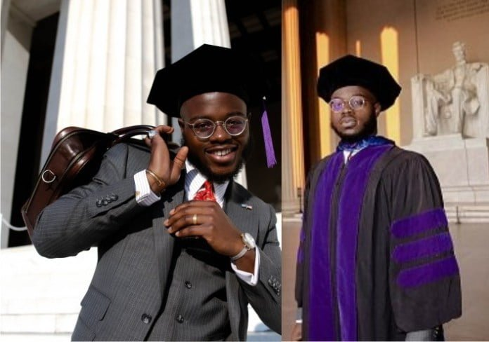 24-Year-old Ekiti indigene bags PhD in Law in American Varsity