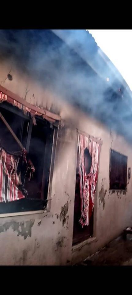 Fire guts a student Lodge in Federal Poly Nasarawa