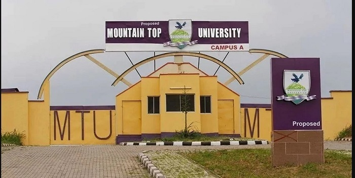 Mountain Top University Post UTME Form