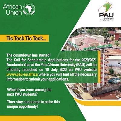 Pan African University Scholarship 2020
