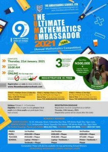 the ultimate mathematics ambassador competition