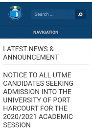 uniport screening cut-off